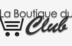 Boutique du club 2019-2020